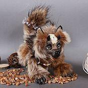 Куклы и игрушки ручной работы. Ярмарка Мастеров - ручная работа ИЩЕТ ДОМ! Хранитель, пес Лукас. Handmade.