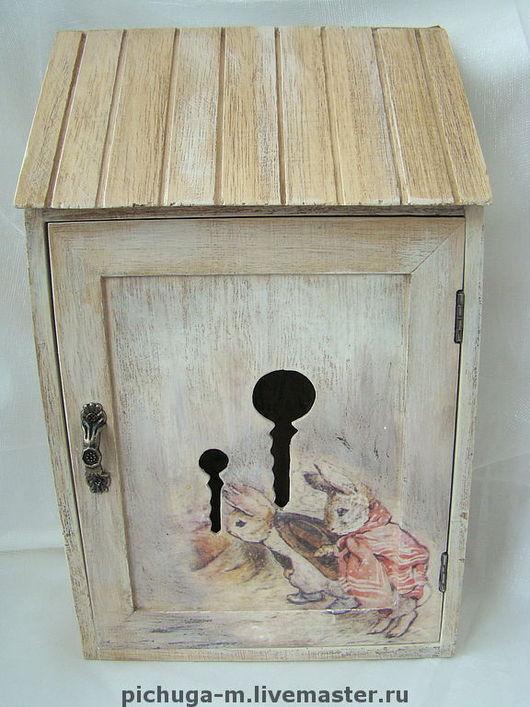 """Прихожая ручной работы. Ярмарка Мастеров - ручная работа. Купить Ключница """"Заячья нора"""". Handmade. Украшение для интерьера, оригинальный подарок"""