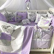 Работы для детей, handmade. Livemaster - original item Full set of patchwork quilt as a GIFT!. Handmade.