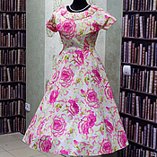 Одежда handmade. Livemaster - original item Retro dress in the style of the 50s