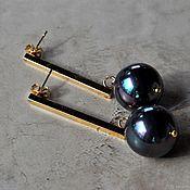 Украшения handmade. Livemaster - original item Earrings in gold