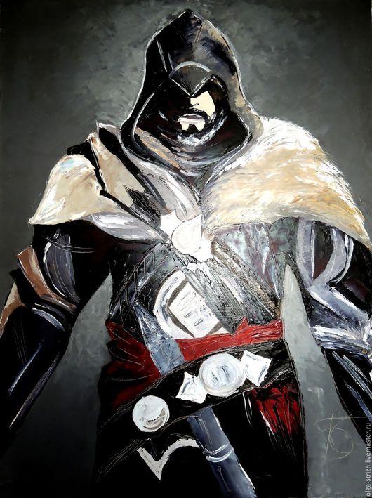 Фэнтези ручной работы. Ярмарка Мастеров - ручная работа. Купить Воин Ассасин  по мотивам компьютерной игры Assassin's Creed. Handmade.