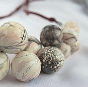 Украшения handmade. Livemaster - original item Necklace made from hand-blown beads in the organic style .Lampwork. Handmade.