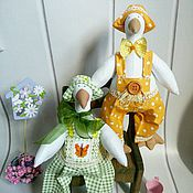 Куклы и игрушки ручной работы. Ярмарка Мастеров - ручная работа Озорной Гусёнок. Handmade.