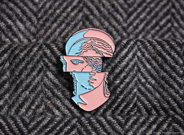 Значок Измененное Сознание, эмаль, Украшения, Москва,  Фото №1