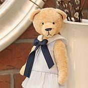 Куклы и игрушки ручной работы. Ярмарка Мастеров - ручная работа Мишка тедди Морячка Поля - мягкая игрушка. Handmade.