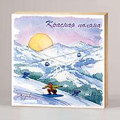 Сувениры и подарки handmade. Livemaster - original item More magnets Krasnaya Polyana. Handmade.