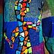 """Кофты и свитера ручной работы. Заказать Платье -джемпер """"Саламандра Гауди"""". Анна Лесникова         Luxury style. Ярмарка Мастеров."""