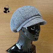 Аксессуары handmade. Livemaster - original item Stylish ladies ` tweed cap. Three colors. Handmade.