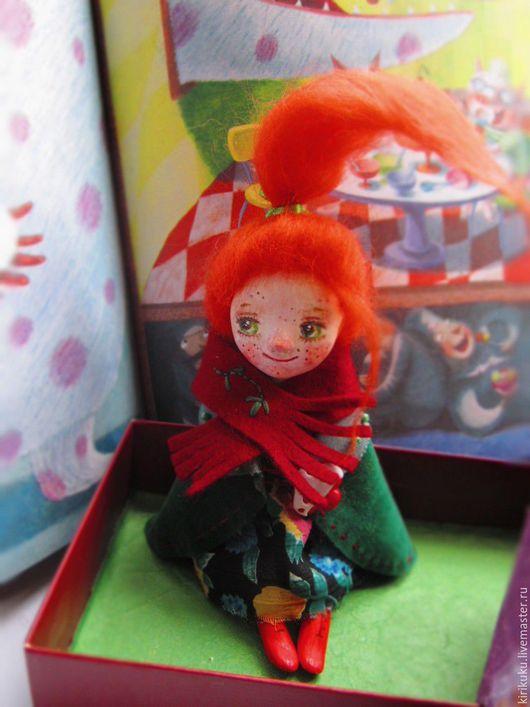 Коллекционные куклы ручной работы. Ярмарка Мастеров - ручная работа. Купить (Резерв) Апрельское колдовство.... Handmade. Рыжий, интерьерная кукла