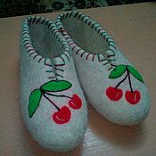 Обувь ручной работы handmade. Livemaster - original item Samovolka Slippers handmade of natural sheep wool.. Handmade.
