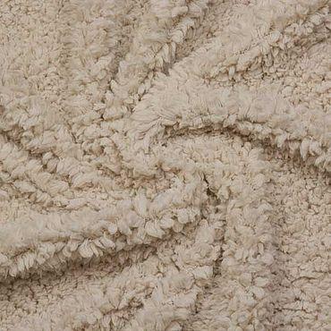 Materials for creativity handmade. Livemaster - original item Fabric: Italian faux fur, beige. Handmade.