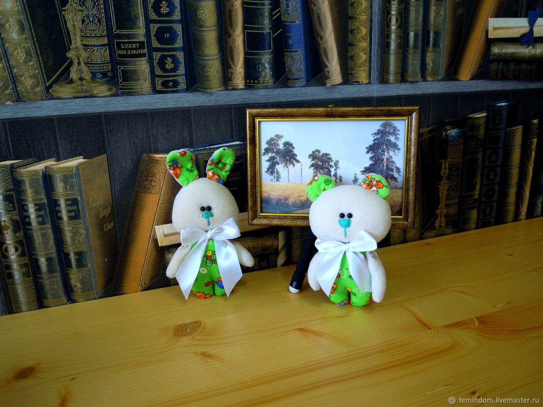 Зайка и Мишутка, Мягкие игрушки, Тольятти,  Фото №1