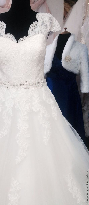 Одежда и аксессуары ручной работы. Ярмарка Мастеров - ручная работа. Купить Свадебное платье Cenerentola4. Handmade. Белый, фатин американский