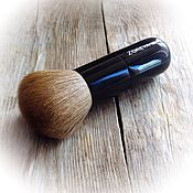 Косметика ручной работы. Ярмарка Мастеров - ручная работа КистьZOREYA для минерального макияжа ( пудра,вуаль,румяна). Handmade.