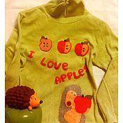 Работы для детей, ручной работы. Ярмарка Мастеров - ручная работа Декорирование детской одежды. Handmade.