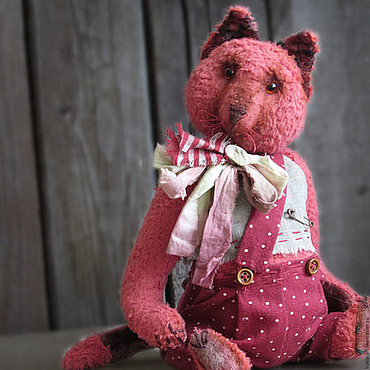 Куклы и игрушки ручной работы. Ярмарка Мастеров - ручная работа Кот Барбарис. Handmade.