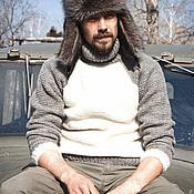 Свитеры ручной работы. Ярмарка Мастеров - ручная работа Вязаный свитер для отдыха. Handmade.