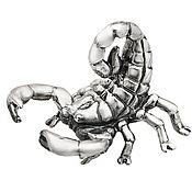 Для дома и интерьера ручной работы. Ярмарка Мастеров - ручная работа Статуэтка Скорпион малый. Handmade.
