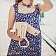 Платья ручной работы. Длинное летнее платье. 'MAIDEN  BAZAR'  creative workshop. Интернет-магазин Ярмарка Мастеров. Длинное платье