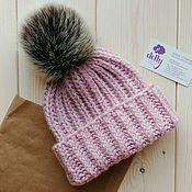 Аксессуары handmade. Livemaster - original item Knitted hat Angy Rose X. Handmade.