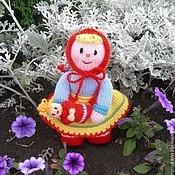 Куклы и игрушки ручной работы. Ярмарка Мастеров - ручная работа Кукла. Вязаная кукла из шерсти Дочки-матери. Handmade.