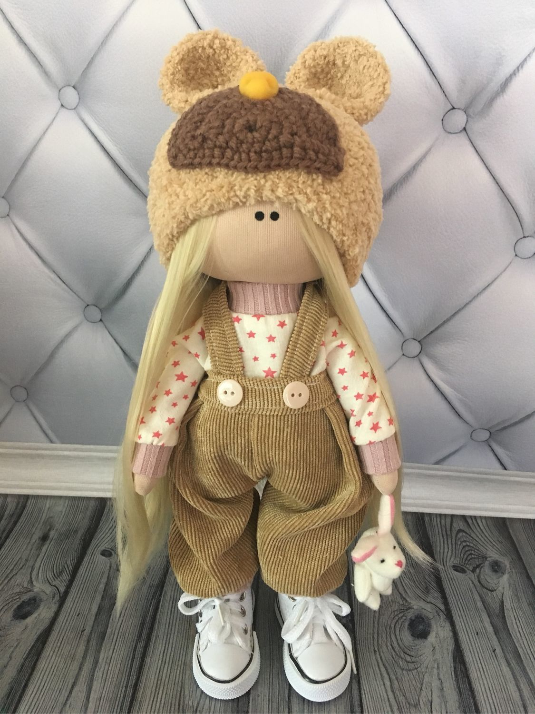Текстильная кукла ручной работы. В наличии, Тыквоголовка, Вельск,  Фото №1