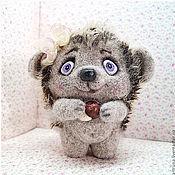 Куклы и игрушки ручной работы. Ярмарка Мастеров - ручная работа Егоринка) Ежа. Handmade.