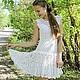 """Для подростков, ручной работы. Ярмарка Мастеров - ручная работа. Купить Платье """" Мой Ангел"""". Handmade. Платье"""