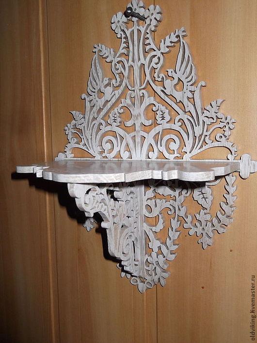 Мебель ручной работы. Ярмарка Мастеров - ручная работа. Купить Ажурная полочка R-673. Handmade. Ажурный узор, полочка