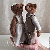 Куклы и игрушки ручной работы. Ярмарка Мастеров - ручная работа Миниатюрные мишки тедди. Handmade.