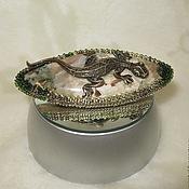 Украшения handmade. Livemaster - original item brooch salamander brooch beaded bead decoration. Handmade.