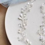 Украшения ручной работы. Ярмарка Мастеров - ручная работа Свадебное украшение для волос. Handmade.
