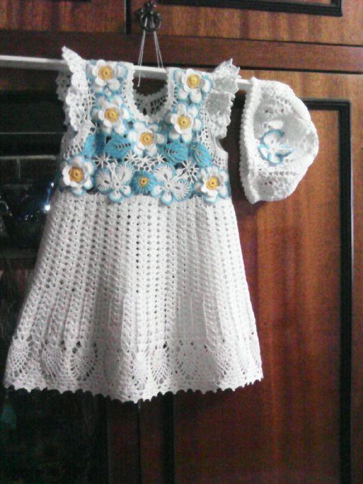 Одежда для девочек, ручной работы. Ярмарка Мастеров - ручная работа. Купить Платье цветочная поляна.. Handmade. Платье для девочки