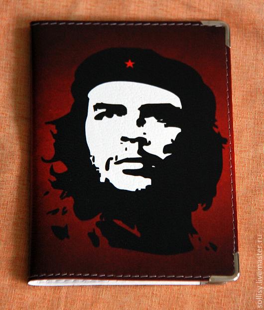 """Обложки ручной работы. Ярмарка Мастеров - ручная работа. Купить обложка """"Че Гевара"""". Handmade. Обложка, подарок, революция, свобода"""