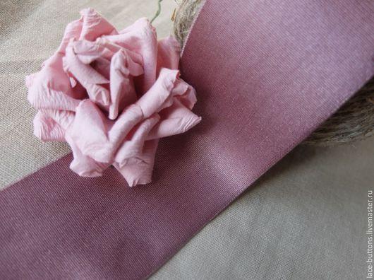 Шитье ручной работы. Ярмарка Мастеров - ручная работа. Купить Резинка мягкая 5см. Handmade. Розовый, резинка для пояса