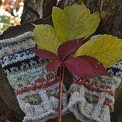 Аксессуары handmade. Livemaster - original item Mitts, knitted