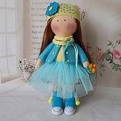 Куклы и игрушки handmade. Livemaster - original item Textile doll tikvarovska GENIA. Handmade.