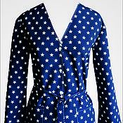 Одежда ручной работы. Ярмарка Мастеров - ручная работа Звездный халат. Handmade.