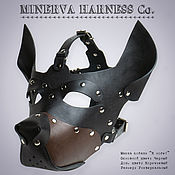 Субкультуры handmade. Livemaster - original item BDSM dog mask