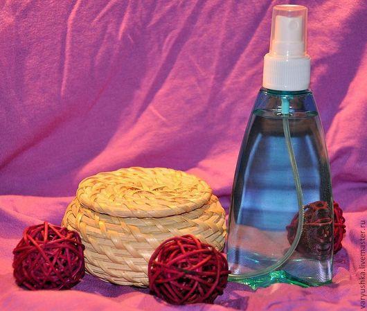 Тоники ручной работы. Ярмарка Мастеров - ручная работа. Купить Тоник для жирной/комбинированной кожи. Handmade. Тёмно-бирюзовый, гидролат розы