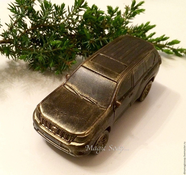 Мыло ручной работы. Ярмарка Мастеров - ручная работа. Купить Мыло  Авто Toyota Land Cruiser Prado. Handmade. мыло