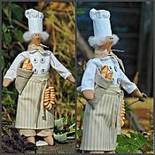 Куклы и игрушки ручной работы. Ярмарка Мастеров - ручная работа Пекарь в стиле Тильда из Прованса. Handmade.