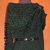 """Одежда ручной работы. Ярмарка Мастеров - ручная работа Вязаное платье """"Изумруд"""". Handmade."""