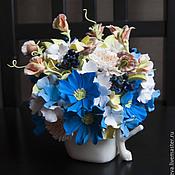 Цветы и флористика ручной работы. Ярмарка Мастеров - ручная работа Интерьерная композиция