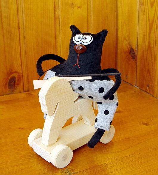 Игрушки животные, ручной работы. Ярмарка Мастеров - ручная работа. Купить Интерьерные игрушки Коты-обормоты (новые образы). Handmade.