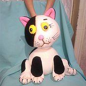 Куклы и игрушки handmade. Livemaster - original item the cat Baba Yaga. Tablet puppets. Handmade.