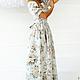 Платья ручной работы. Платье ПН-23. Marussia / Маруся. Ярмарка Мастеров. Платье в пол