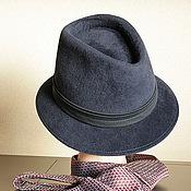 Аксессуары ручной работы. Ярмарка Мастеров - ручная работа Мужская шляпа. Handmade.