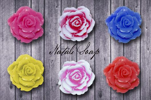 Мыло ручной работы. Ярмарка Мастеров - ручная работа. Купить Роза. Handmade. Комбинированный, мыло ручной работы, розовый букет